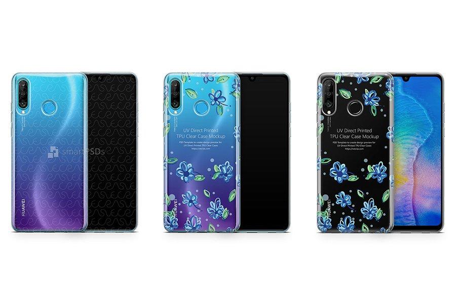 Download Huawei P30 Lite UV TPU Clear Case