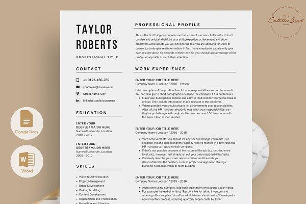 Download Resume/CV - The Taylor