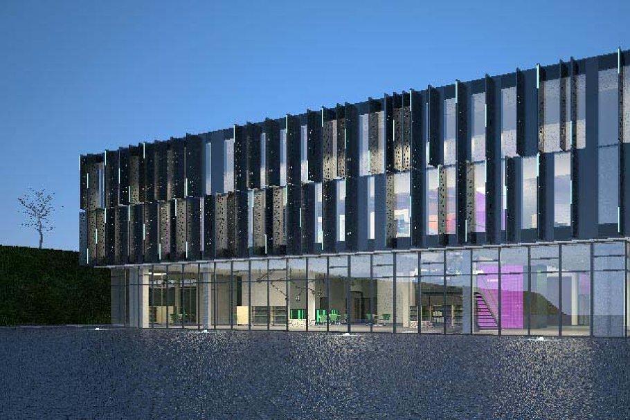 Download Cultural Center Building