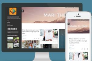 Download Mari - Responsive Grid Tumblr Theme