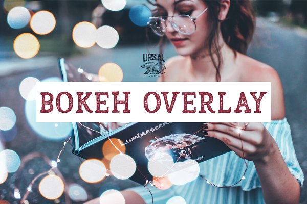 Download 35 Bokeh Overlays
