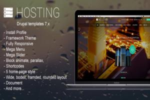Download Hosting - Multipurpose Drupal Theme