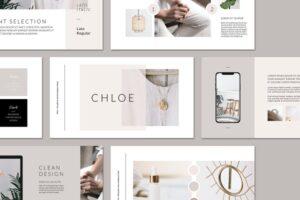 Download CHLOE Keynote Brand Guidelines