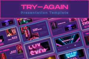Download Try-Again Powerpoint Template