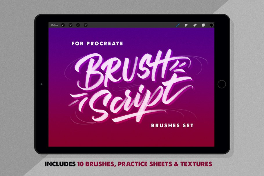 Download BrushScript Bundle for Procreate