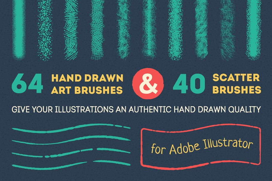 Download Art and scatter brushes pack