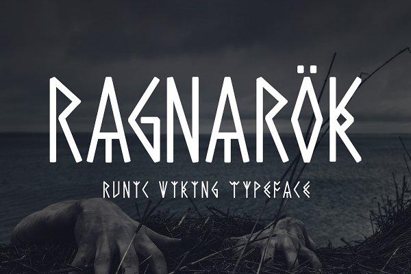 Download Ragnarok - Runic Viking Font