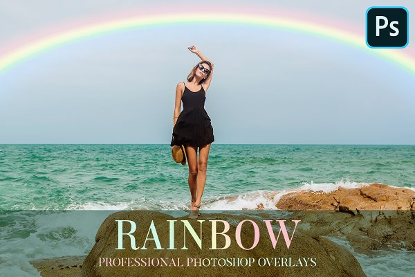 Download Rainbow Overlays Photoshop