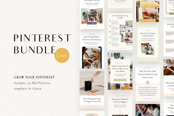 Download Pinterest Bundle | Canva