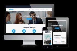 Download Rapture - Joomla Business Template