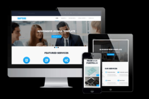 Download Rapture - Drupal Business Template