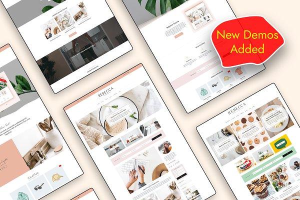 Download WordPress Blog & Shop Theme Rebecca