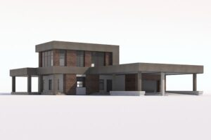 Download Modern country house