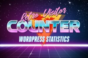 Download Retro Visitor Counter For WordPress