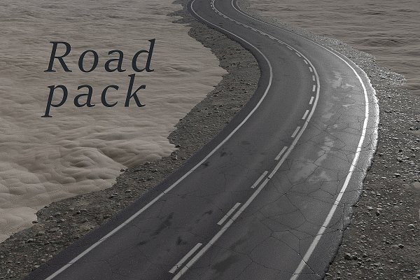 Download Road texture pack (PBR)