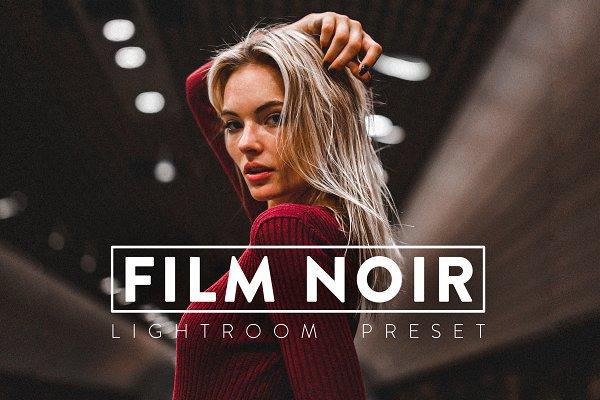 Download 10 FILM NOIR Pro Lightroom Preset