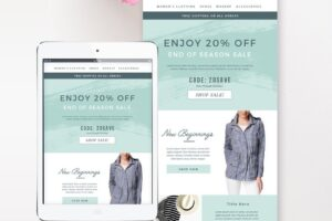 Download Sales Fashion Email Template