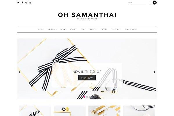 Download Samantha - eCommerce Theme