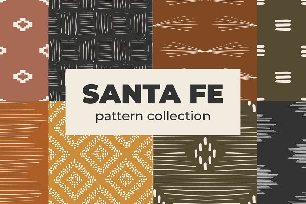 Download Santa Fe Pattern Collection