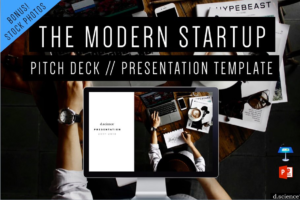 Download Creative Pitch Deck Startup Template
