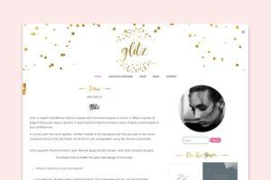 Download Glitz: A Glam WordPress Theme