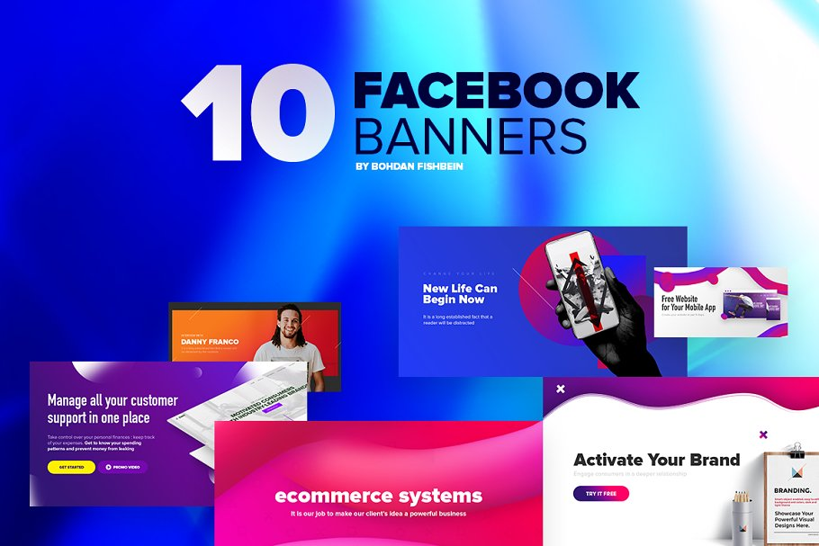 Download Facebook Post Banners