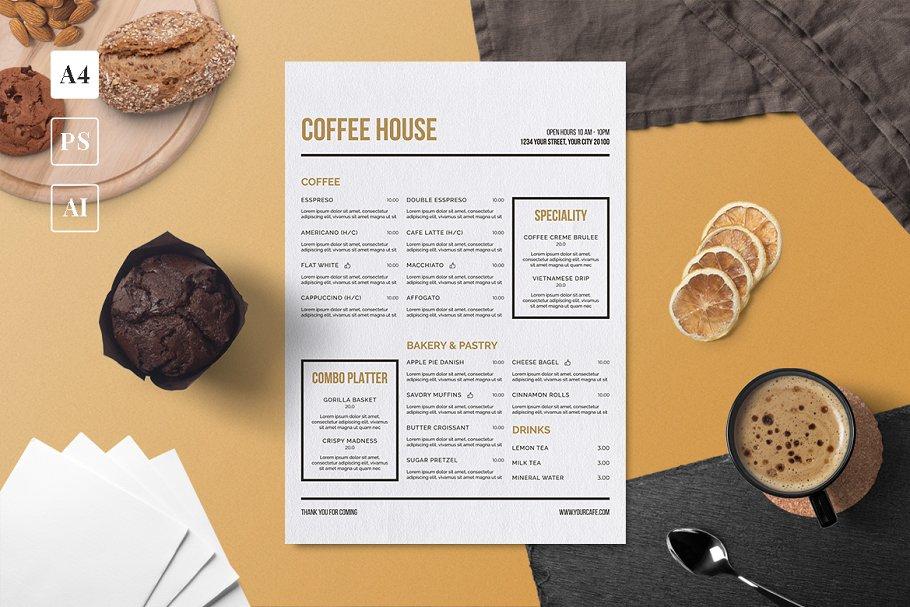 Download Minimalist Coffee Menu