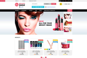 Download Beauty Shop – Cosmetics Store