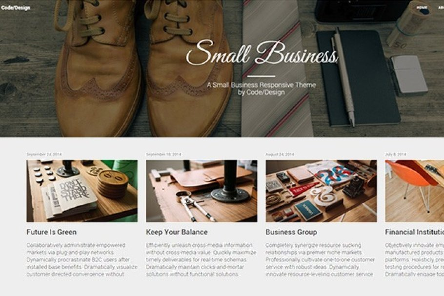 Download Small Business | Bootstrap Theme