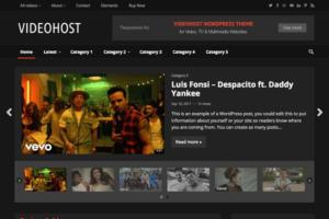 Download VideoHost - WordPress Video Theme