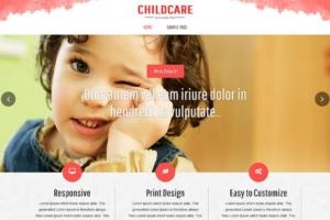 Download Childcare WordPress theme