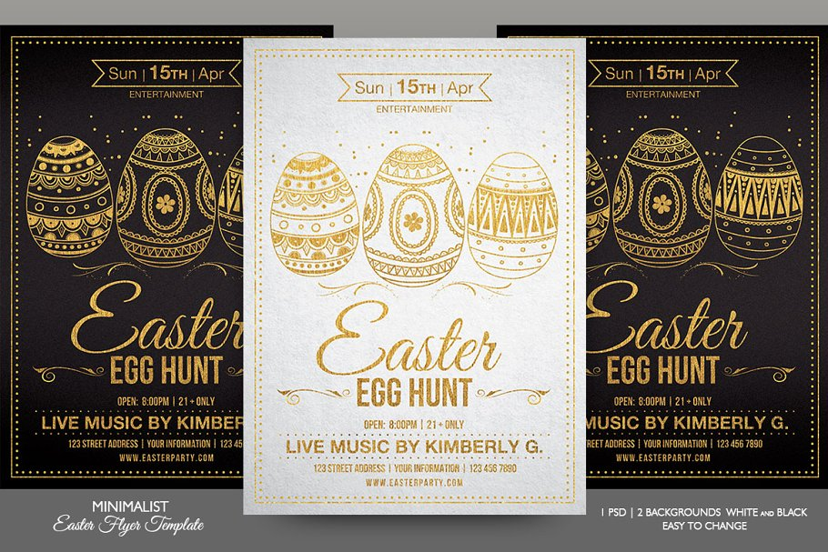 Download Easter Flyer Template