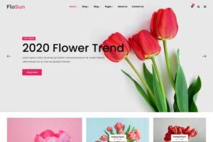 Download FloSun - Flower Shop HTML5 Template