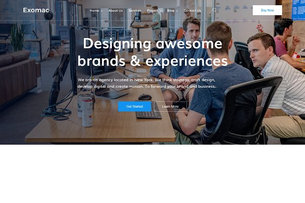 Download Exomac – Corporate Vue Nuxt Template