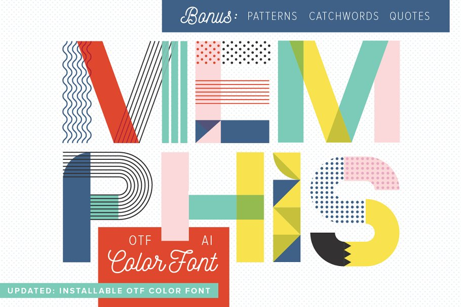 Download MEMPHIS Type Collection