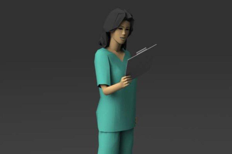 Download Woman in Scrubs 02