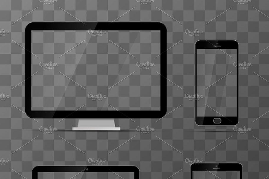 Download Mockups of monitor