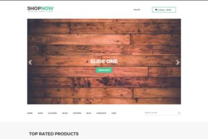 Download Shopnow | Woocommerce+Bootstap Theme
