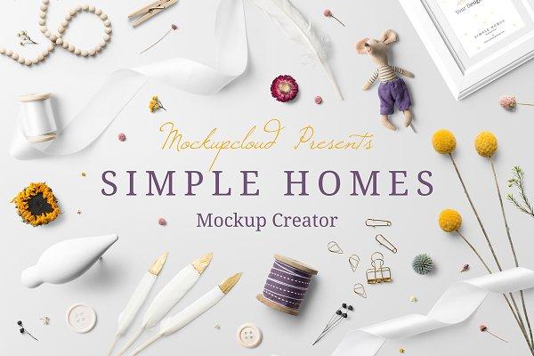 Download Simple Homes Mockup Creator