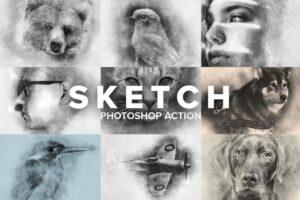 Download Sketch Photoshop Action