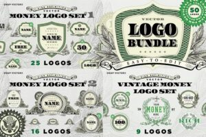 Download Vector Money Logo Bundle