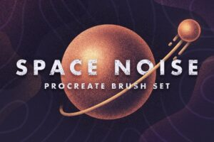 Download Space Noise - Procreate Brush Set