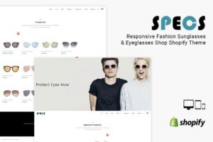 Download Specs Sunglass Shop Shopify Theme