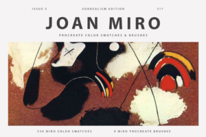 Download Joan Miro's Art Procreate Brushes
