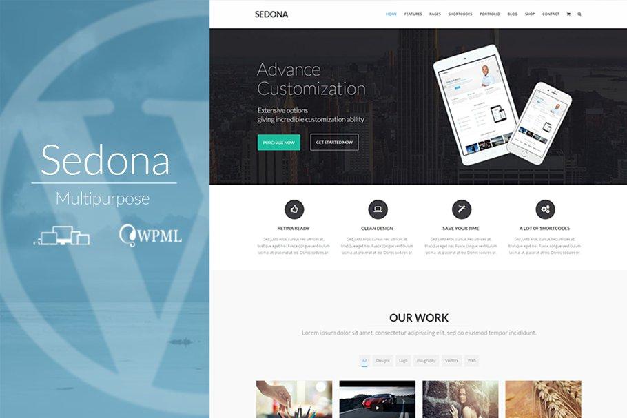 Download Sedona - Creative Multipurpose Theme