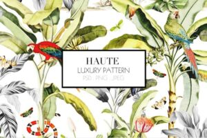 Download HAUTE - Luxury Pattern