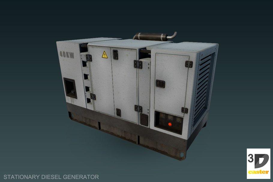 Download Stationary diesel generator