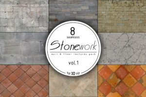 Download 8 stone seamless HD textures