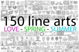 Download 150 Designs -- LOVE-SPRING -SUMMER