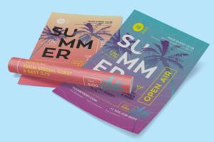 Download Summer Flyer/Poster Template